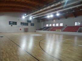 Ξύλινο αθλητικό δάπεδο