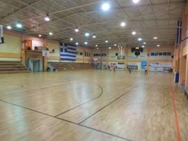 Ξύλινο αθλητικό δάπεδο στο Νομό Αργολίδας